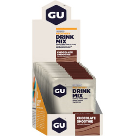 GU Energy Recovery Drink Mix Box 12x50g, Chocolate